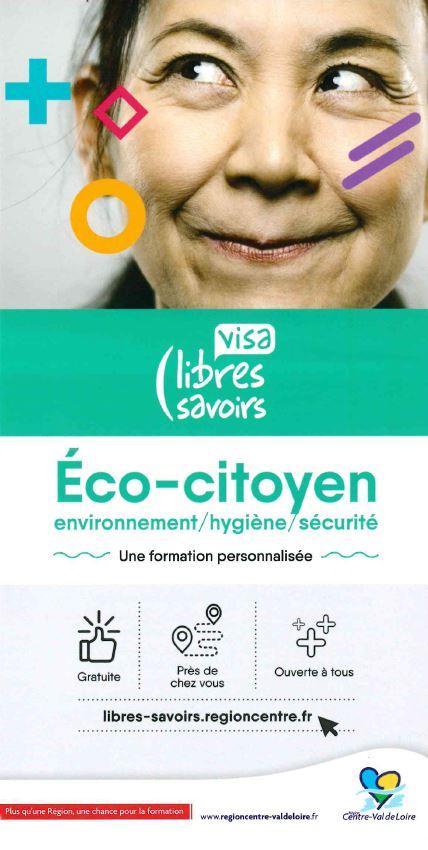 Visa Eco-citoyen environnement/hygiène/sécurité