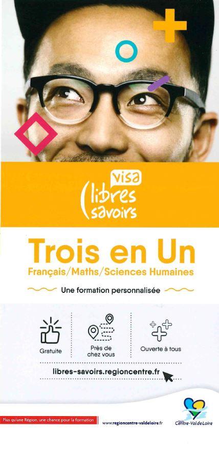 Visa Trois en un  (français, maths, sciences humaines)
